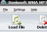 Daniusoft WMA MP3 Converter 2.4.1.1 poster