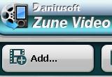 Daniusoft Zune Video Converter 2.1.0.36 poster