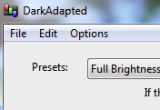 DarkAdapted 3.0.1 Build 244 poster