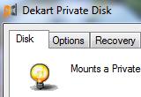 Dekart Private Disk 2.12 poster