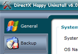 DirectX Happy Uninstall 6.25 poster