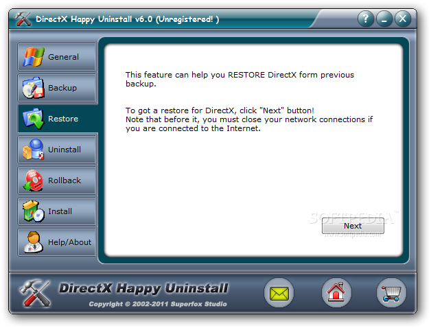 Download Directx Happy Uninstall For Free تحميل برنامج  DirectX-Happy-Uninstall_3