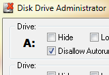 Disk Drive Administrator 3.8 poster