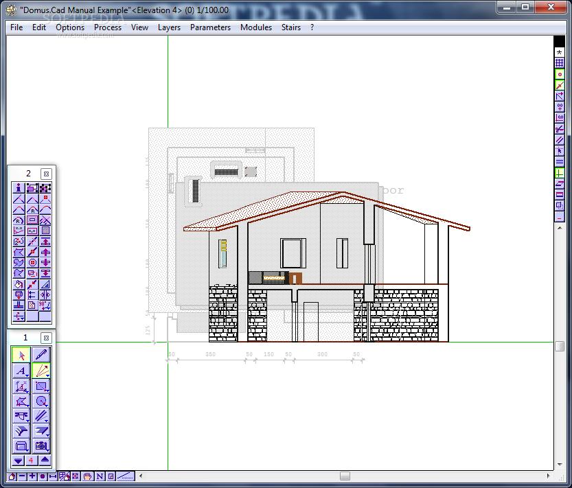 برنامج رسم هندسى معمارى ثلاثى الأبعاد Domus Cad برامج كاملة
