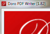 Doro PDF Writer 1.92 poster