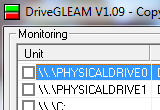 DriveGLEAM 1.12 poster
