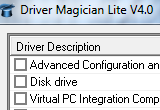 Driver Magician Lite 4.29 poster