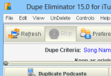 Dupe Eliminator for iTunes 15.0 poster