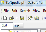 DzSoft Perl Editor 5.8.9.6 poster