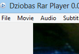 Dziobas Rar Player 0.009.52 Experimental poster
