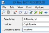 EF Find 7.60 poster