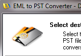 EML to PST Converter 4.1.0.0 poster
