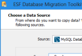 ESF Database Migration Toolkit Professional 8.1.11 poster
