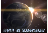 Earth 3D Space Screensaver 1.0.4 poster