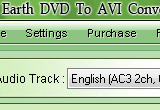 Earth DVD To AVI Converter 2.00 poster