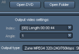 Easiestutils DVD to ZUNE converter 4.9.0.69 poster
