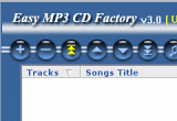 Easy MP3 CD Factory 3.0 poster