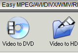 Easy MPEG / AVI / DIVX / WMV / RM to DVD 2.5.11 poster