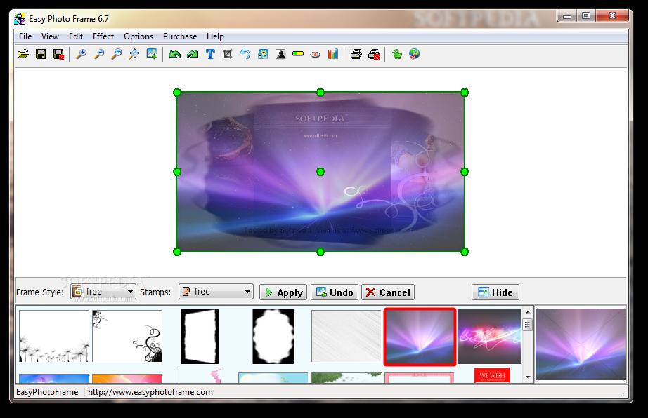 برنامج لاضافة الاطارات للصور يحوي اكثر من 300 نوع من