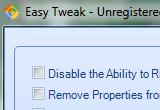 Easy Tweak 1.8.7 poster