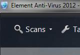 ايقونة برنامج حذف الفيروسات من الكمبيوتر Element Anti-Virus 2012 6.0.0.2734.2