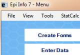 Epi Info 7.1.4.0 poster