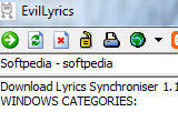 EvilLyrics 0.1.91 Build 144 poster