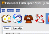 Excellence Flash Speed 200% 3.7 poster