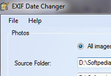 EXIF Date Changer 3.2 poster