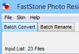 FastStone Photo Resizer 3.3 poster