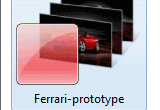 Ferrari Windows 7 Desktop Theme poster