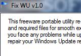 Fix WU 1.0 poster