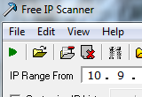 Free IP Scanner 2.3 Build 20140321 poster