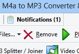 Free M4a to MP3 Converter 8.3 Build 69 poster