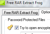 Free RAR Extract Frog 5.20 poster