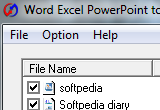 Word Excel PowerPoint to Pdf Converter 5.8 poster