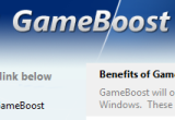GameBoost [DISCOUNT: 10% OFF!] 2.9.8.2014 poster