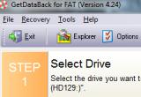 GetDataBack For FAT 4.33 poster