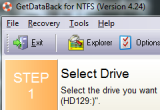 GetDataBack for NTFS 4.33 poster