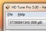 HD Tune Pro 5.50 poster