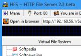 HFS - HTTP File Server 2.3b Build 290 poster