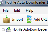 HotFile AutoDownloader 1.0 poster