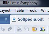 IBM Lotus Symphony 3.0.1 poster