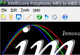 Intelliscore Polyphonic MP3 to MIDI Converter 8.1.2 poster
