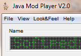 Java Mod Player 2.2 poster