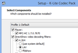 K-Lite Codec Pack Full 10.7.1 / Update 10.7.2 Build 2014.09.12 poster
