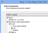 K-Lite Mega Codec Pack 10.7.1 / Update 10.7.2 Build 2014.09.12 poster