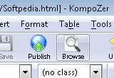KompoZer 0.8b3 / 0.7.10 poster