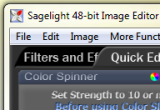 Sagelight 48-bit Image Editor 4.2g Beta poster