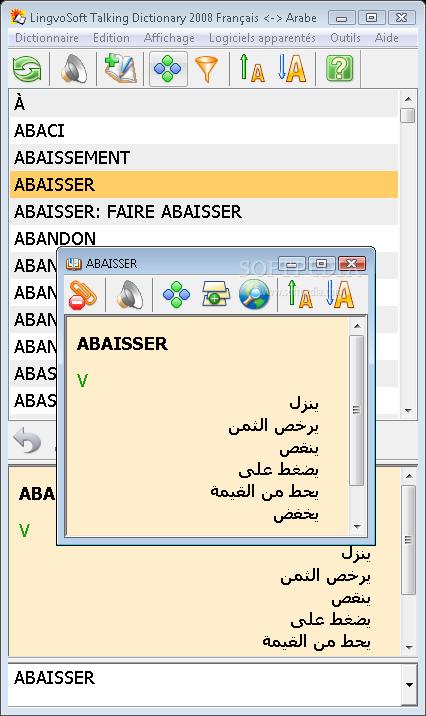 lingvosoft dictionary 2008 french arabic
